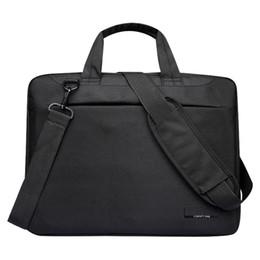 12 notebook online shopping - Laptop bag case inch Nylon airbag shoulder handbag computer bags Waterproof Messenger Women men Notebook bag Black No Airbag