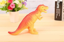 $enCountryForm.capitalKeyWord NZ - 6pcs Shrilling dinosaur toys 30cm Screaming Rubber dinosaur Squeeze Stress Toy Funny Squeeze Sound Toy children kids Christmas gift