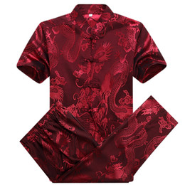 $enCountryForm.capitalKeyWord Australia - traditional chinese clothing for men silk wushu kung fu clothes uniform tai chi dragon suits wing chun satin cheongsam oriental