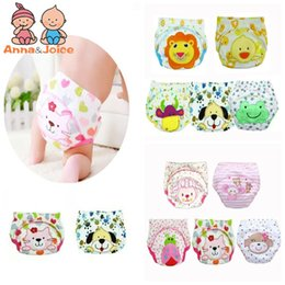 child diapers NZ - 6pc Baby Training Pants new  Children Study Diaper Underwear Infant Learning Panties Newborn Cartoon Diapers ftrx0001 CJ191217