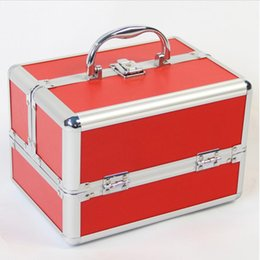 purple orange bedding 2019 - Portable Storage Box Make Up Organizer Jewelry Box Cosmetic Organizer Suitcase Women Travel Fashion Makeup Storage Conta