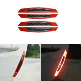 Discount reflective car wheels - Creative Car Reflective Stickers Wheel Eyebrow Door Side Decoration Essential Accessories