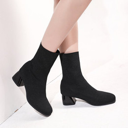 $enCountryForm.capitalKeyWord Australia - New Arrivals Vintage Classic Fashion Trend Booties for Women Martin Boots Chunky Heel Winter Autumn Girls Ladies Daily Casual Shoes