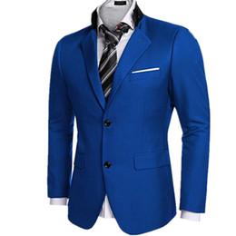 Man black grey suits designs online shopping - The latest version of men s suit jacket hot sale business men coat classic designs two grain of buckle long sleeved jacket