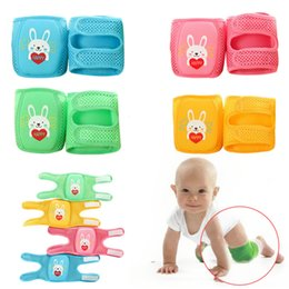 $enCountryForm.capitalKeyWord Australia - 32*12.5cm Summer Baby Learn to Walk Knee Protector Baby Knee Pads for Crawling Drop Resistance Infant knee pads