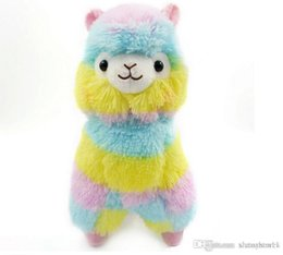 kawaii alpaca toy UK - 2018 hot selling Cute Alpacasso Kawaii Alpaca Llama Arpakasso Soft Plush Toy Doll Gift
