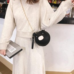 $enCountryForm.capitalKeyWord Australia - 2019 Hot Female Mini Bags Women's Bag Piglet Crossbody Cute Small Chain Round Bag Purse Phone Key Pouch bolsa feminina