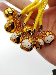 $enCountryForm.capitalKeyWord Australia - Choose model 10pcs cartoon Plutus cat kids lovely Jingle Bells,Christmas Decoration,Lanyard Accessories Bell key Chains gifts
