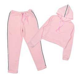 Female Sport Clothes Australia - Women Yoga Sport Suit Autumn Shirt Set 2 Piece Female Long-sleeved Pants Outdoor Quick Drying Hooded Sportswear Running Clothes