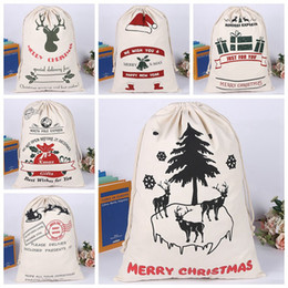 best christmas candy NZ - Christmas Candy Bag Gift Bags Elk New Year Xmas Best Gifts For Kids Event Party Decor