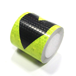3m reflective tape car online shopping - Muchkey Honeycomb Arrow Sticker Reflective Conspicuity Safety Warning lighting Tape Strip for car trailers truck traffic cm m