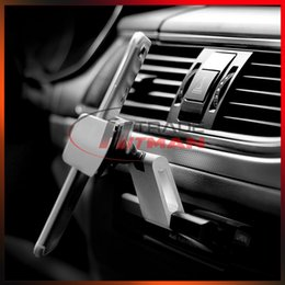Wholesale Universal Car Phone Holder Stand CD Slot Mount Aluminium Mobile Phone Stand Mount Bracket For All Smartphone