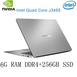 ssd for laptop NZ - P2-30 6G RAM 256G SSD Intel Celeron J3455 NvIDIA GeForce 940M Gaming laptop keyboard and OS language available for choose