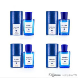 Bottles 75ml online shopping - Perfumes for unisex Acqua Di High quality Blue bottle ml EDT EDP express deliver
