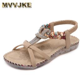 $enCountryForm.capitalKeyWord Australia - Mvvjke Women Sandals Exquisite Diamond Bohemian National Rhinestone Fashion Flat Shoes Large Size Casual Shoes Summers Sandals Y19070303