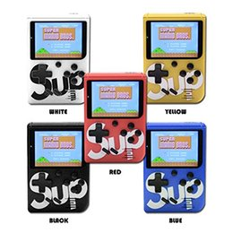SUP Mini Handheld Game Console Retro Portable Video Game Console Can Store 400 Games 8 Bit 3.0 Inch Colorful LCD Cradle Design on Sale