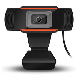 HD Webcam Web Camera 30fps 1080P 720P 480P PC incorporato A870 scatola al minuto fonoassorbenti microfono Registra video per computer PC Laptop in Offerta