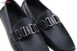 $enCountryForm.capitalKeyWord Australia - duping520 SF Men Real Leather 2018 Women Shoes Female Genuine Leather Loafers Summer Breathable Genuine Leather Flats Soft Comfortable Shoes