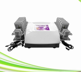 Chinese  14 pads laser lipolysis zerona laser cellulite removal slimming zerona laser machine for sale manufacturers