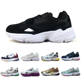 high top running shoes for women 2019 - Top Falcon W Athletic Casual Shoes Dad Shoes For Women Men High Quality Designer Sports Sneakers Jogging Runner Outdoors