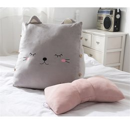 home birthday supplies Australia - New animal backrest cartoon cushion models removable wash pillow plush toys origin source supply factory direct ZZC-05