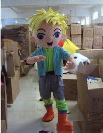 yellow hair movie 2019 - 2019 Factory direct sale Mascot Costume Adult Character Costume mascot As fashion freeshipping Yellow hair boy discount