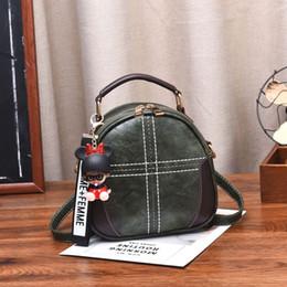 Ladies Grey Backpack Handbag Australia - Fashion New Backpacks Designer Fashion Handbags Women Lady Rucksack Bag School Bags Vintage PU Leather Tote Ladies Shoulder Bags #5585313