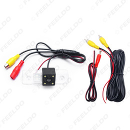 octavia lights NZ - wholesale Special Rear View Car Reverse Backup Camera With LED light For Skoda Octavia Mk2(1Z)(2004-2012) #4061