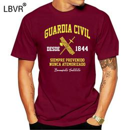 Wholesale t shirt customization for sale – custom 100 Cotton Customer Customization Patterns D Print Custom T Shirt Men Guardia Civil Tshirt Clothing Summer T Shirts Men Xl