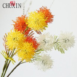 Plastic Thorns Australia - rtificial & Dried Simulation Iceland 3 head plastic thorn ball home decoration fartificial flowers wedding scene layout photograph...
