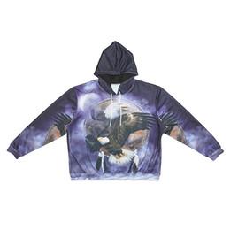 f942cce59 Men Hoodie Eagle 3D Graphic Full Printed Man Hooded Sweatshirt Unisex  Casual Pullover Hoodies Long Sleeves Sweatshirts Digital Tops (R2438)