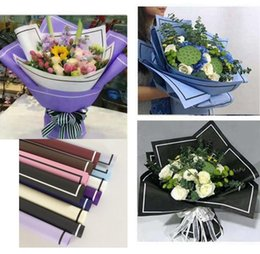 Florist wrap online shopping - 20 Sheets Flower Packaging Paper Florist Supplies Handmade Material Diy Bouquet Pack festival Gift Wrapping MMA1262