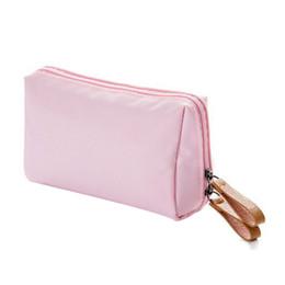 Wristlet Cosmetic Bag Australia - New Women's Fashion Cosmetic Bag Handbag Cloth Zipper Wristlet Clutch Travel Toiletry Bag Storage High Quality Hot Sale
