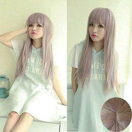 $enCountryForm.capitalKeyWord Australia - Fashion Long Fluffy Straight Wig Women Harajuku Anime Style Cosplay Full Wig for women wig Free deliver