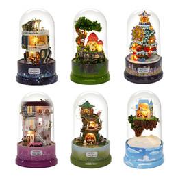 $enCountryForm.capitalKeyWord Australia - Mini Doll House DIY Music World Light Miniature Dollhouse Miniature Furniture Assembly Blocks Creative Girls Birthday Gift B-026