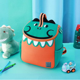 dinosaur children bag Australia - 2019 New Green Dinosaur School Bags for Boys Girls Kindergarten Children School Backpacks Cute Animals Book Bags Mochila Escolar