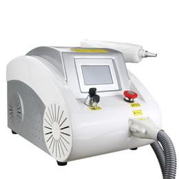 Wholesale Portable Q-Swtich Nd Yag Laser Tattoo Removal Machine Carbon Peeling Facial Skin Rejuvenation Machine For Sale