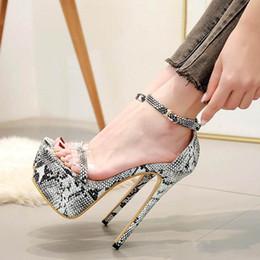 $enCountryForm.capitalKeyWord Australia - Plus size 35 to 40 41 42 sexy animal printed ultra high heels women designer pumps 16cm