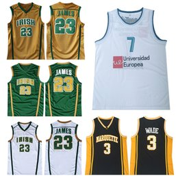 363be1cdb NCAA LeBron 23 James 2019 Men Youth LeBron jersey Luka Dwyane 3 Wade 77  Doncic Stitched Basketball Jerseys