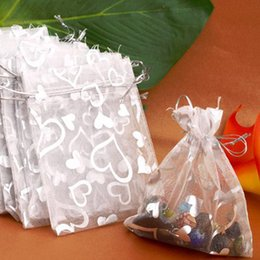 Silver Favor Bags Australia - NOCM Hot 25PCs Silver Organza Wedding Favor Gift Bag Pouch Packaging Jewelry Candy Bags