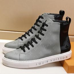 Working Shoes For Men Australia - Fashion Shoes Boots for Men with Original Box M#27 Chaussures pour hommes 2019 Fashion Work Boots Zapatos de hombre Ankle Boots Hot Sale