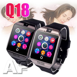 $enCountryForm.capitalKeyWord Australia - Top selling Q18 Smart Watch Passometer with Touch Screen camera watches Support TF card smartwatch for Android With retail Box