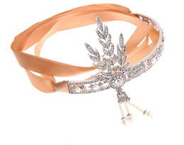 Hot Sale Beautiful Shiny Crystal Bridal Hairbands Pageant Gold Silver Black Leaf Hairband Cheap Wedding Accessories wedding headpiece