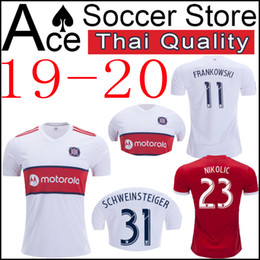4f0f5072f new Chicago soccer Jersey Fire 19 20 Home white away red McCARTY FRANKOWSKI  MIHAILOVIC NICOGAITAN NIKOLIC SCHWEINSTEIGER 2019 2020 shirt