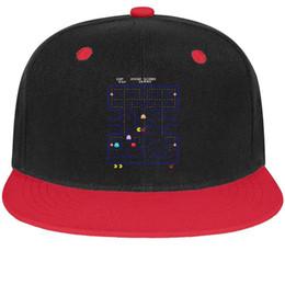 $enCountryForm.capitalKeyWord NZ - Funny Pac-Man game Unisex Mens Hats Woman Hat Designed Cotton Snapback Flatbrim Top Hats Baseball Cap for Women