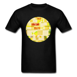 designer black shirts for men Australia - Deep Natures Forlorn Cubic Dream 2018 Lemon Yellow Black T Shirt For Men Cotton Geometric Designer Tops T-shirt Fitness
