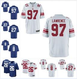 Football Giants Australia - Dexter Lawrence Daniel Jones Giants Jersey Deandre Baker Saquon Barkley Julian Love Eli Manning custom american football jerseys white 4xl
