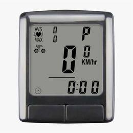 $enCountryForm.capitalKeyWord UK - SUNDING Bike Computer Speedometer Wireless Waterproof Bicycle Odometer Cycle Computer Multi-Function LCD Back-Light Display #766134