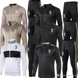 $enCountryForm.capitalKeyWord Australia - 2019 Juventus soccer jacket training suit 2018-19 RONALDO DYBALA jackets kit juve full zipper football jacket sweater tracksuit free ship