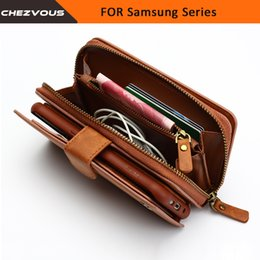 $enCountryForm.capitalKeyWord Australia - Wallet For Samsung Galaxy S4 5 6 7 Edge Case 2 In 1 Card Slot Stand Case For Note 4 5 Flip Leather Cover Zipper Purse Phone Bag J190702